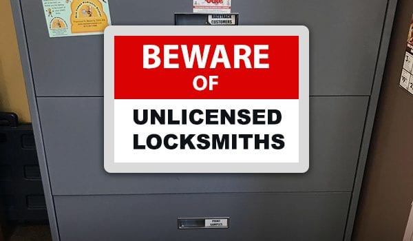 Armstrong Locksmith Warns of the Dangers of Unlicensed  Locksmith Operators in nashville tn